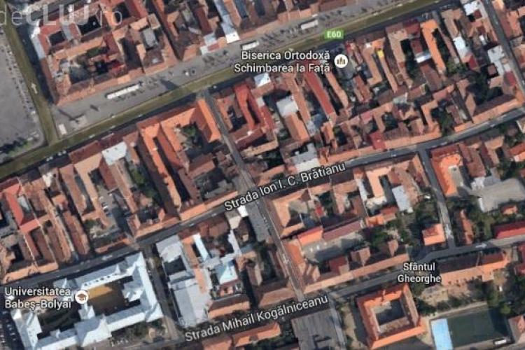 Începe asfaltarea pe strada I.C. Brătianu, din inima Clujului. Ce restricții vor fi pentru șoferi?