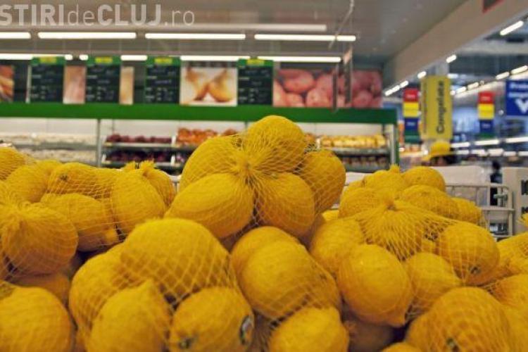 Fructele s-au scumpit cu 10% luna trecută! Lămâile sunt în top