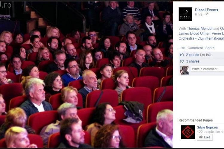 Diesel Events a recurs la Photoshop ca să UMPLE sala de la Festivalul de Jazz - FOTO