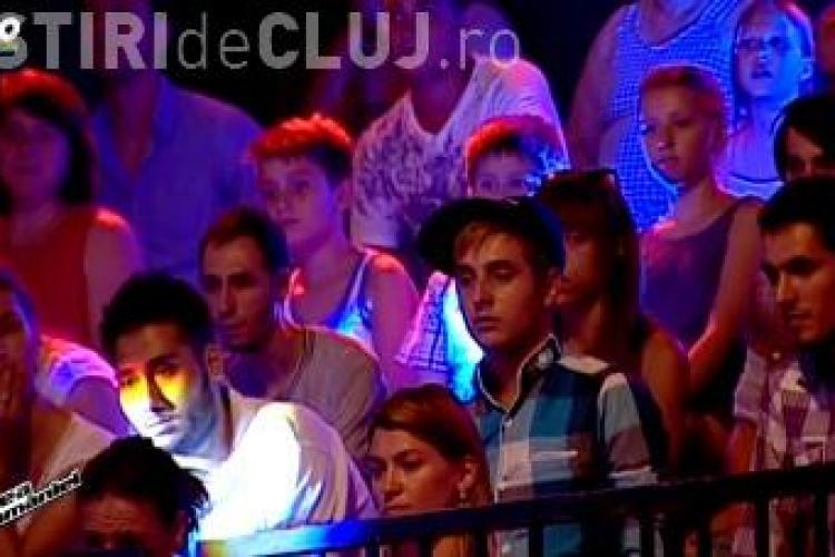 VOCEA ROMÂNIEI - Tudor Chirilă a atacat verbal un spectator - FOTO