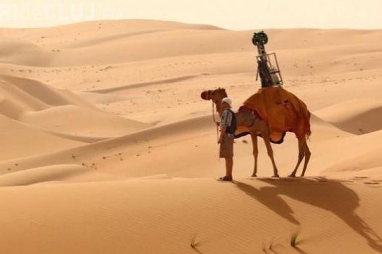 Google fotografiază deșertul din spatele unei cămile. Vezi cum arată VIDEO
