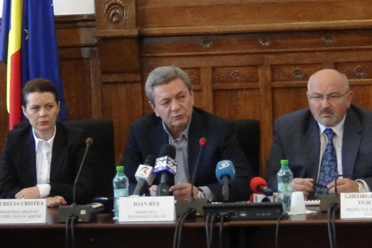 Ministrul Transporturilor, Ioan Rus, întrebat cât face pe drum de la București la Cluj. Ce a RĂSPUNS?