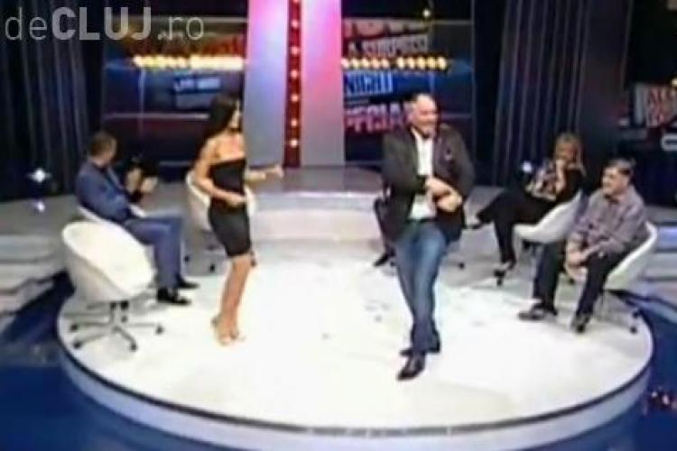 Nelson Mondialu a dansat cu Adelina Pestrițu în direct. Vezi ce show a făcut VIDEO