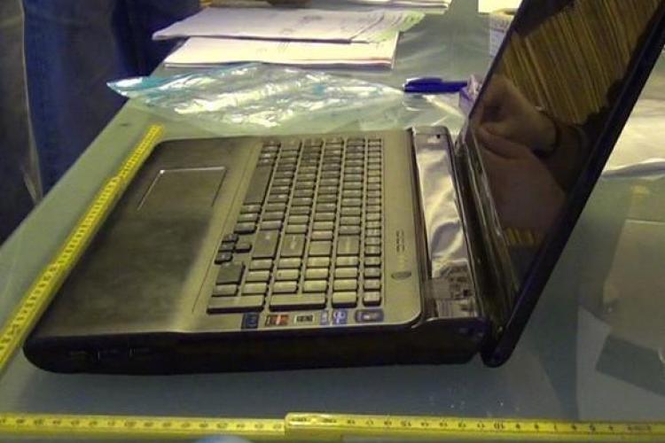Documente contabile și carduri bancare ridicate de polițiștii clujeni în urma perchezițiilor de joi dimineață FOTO VIDEO