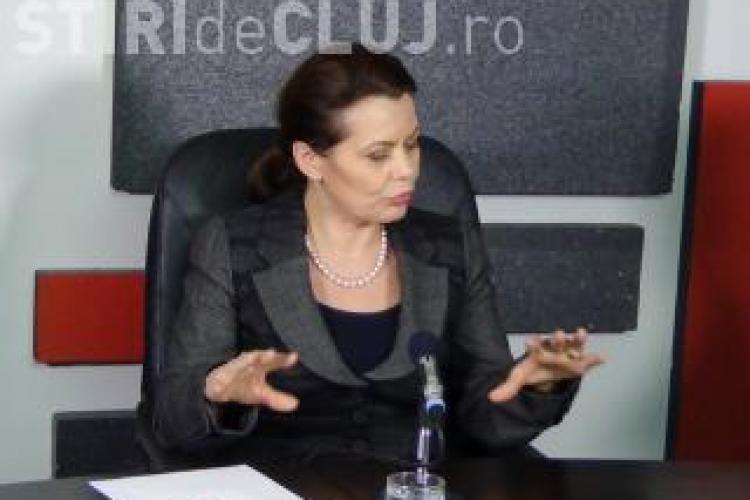 Ministrul delegat pentru Dialog Social, Aurelia Cristea, la Știri de Cluj LIVE - EMISIUNEA ÎNREGISTRATĂ