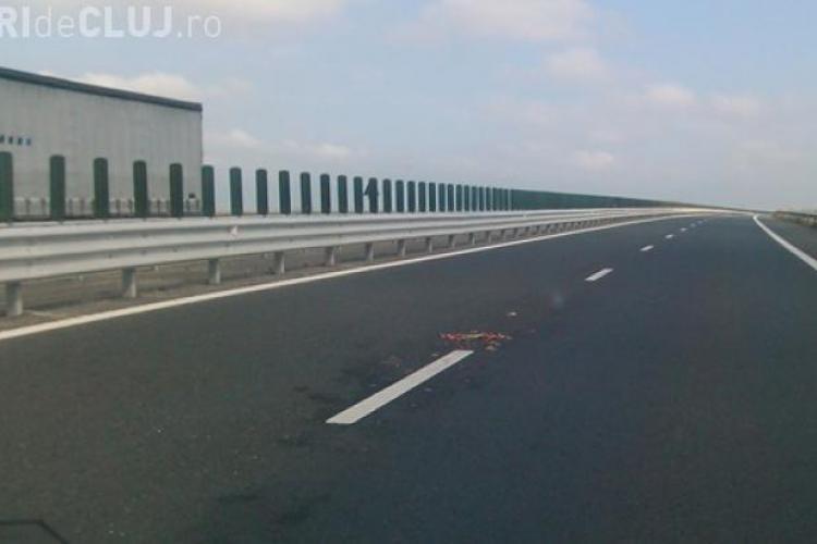 Incident NEOBIȘNUIT pe Autostrada Transilvania