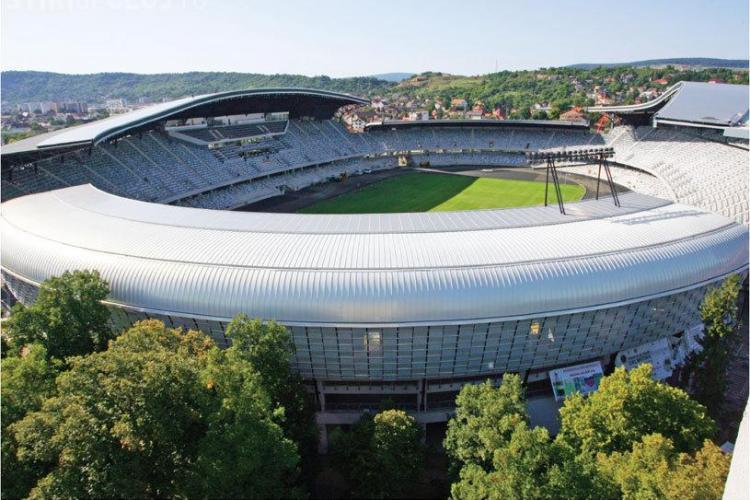 Cluj Arena trăiește din nunți și botezuri. Stadionul nu a fost niciodată plin la un meci, dar e pe PROFIT