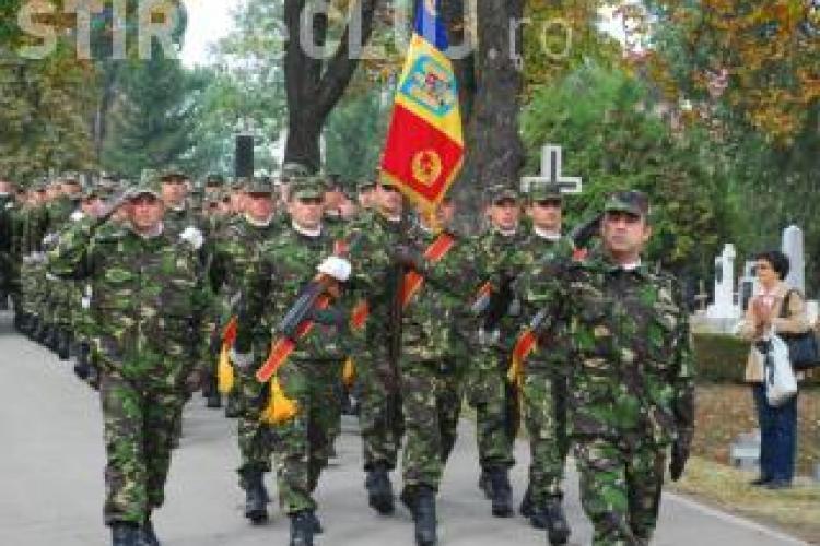 Ceremonie militară pentru sărbătorirea a 70 de ani de la eliberarea Clujului. Când va avea loc evenimentul