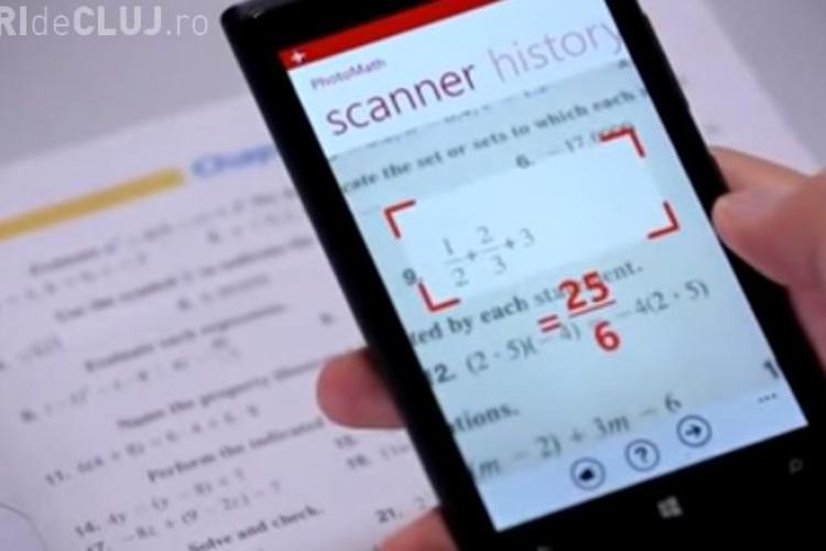 ASTA MAI LIPSEA! PhotoMath, aplicaţia care rezolvă rapid ecuaţii în locul elevilor