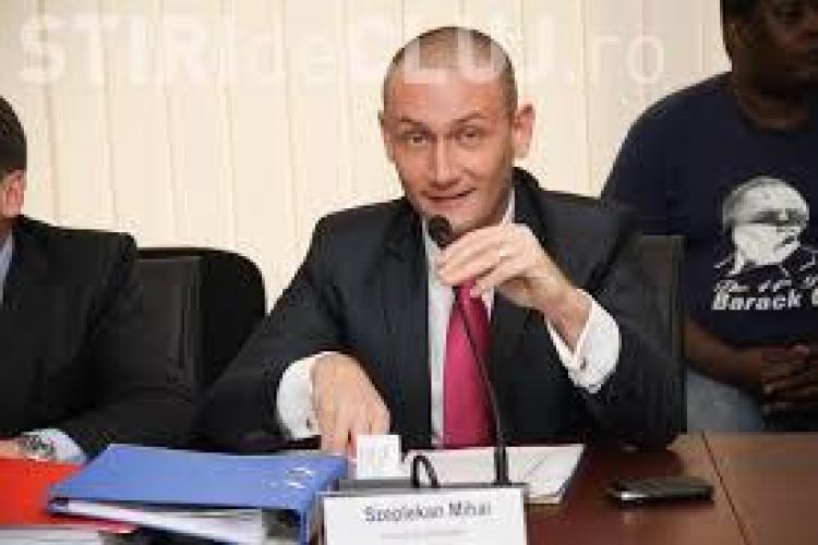 Seplecan candidează la Consiliul Județean Cluj cu demisia pe masă