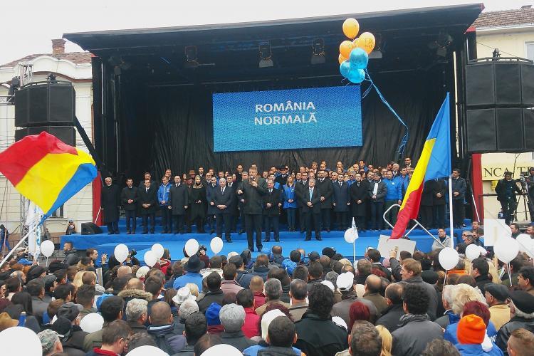 Iohannis a adunat la Cluj 18.000 de oameni: Semnalul schimbării îl dăm de la CLUJ, din primul TUR - VIDEO și FOTO