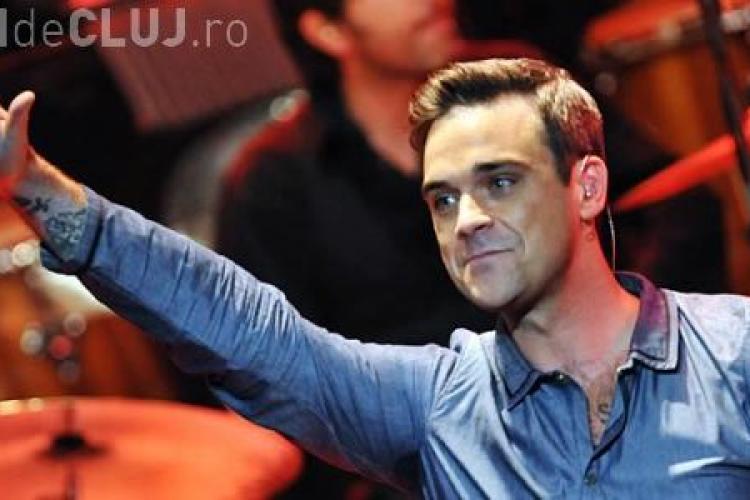 Robbie Williams CONCERT pe Cluj Arena / UPDATE: Ce spune Emil Boc?