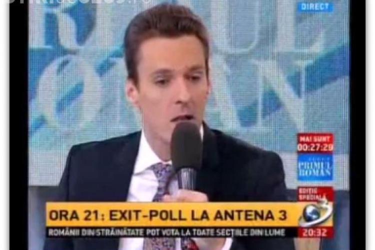 """Mircea Badea i-a insultat pe cei care au votat """"în alt fel"""" - VIDEO"""