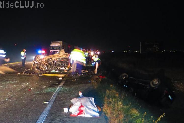 Accident MORTAL pe Centura Vâlcele - Apahida! Detalii CUTREMURĂTOARE - FOTO