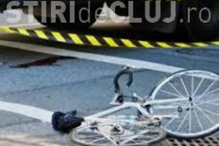 Biciclist lovit de o mașină lângă Iulius Mall Cluj