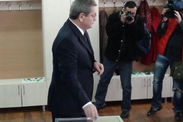 Ioan Rus a VOTAT a Cluj în turul doi: Vreau o perioadă de stabilitate, prosperitate și liniște - VIDEO