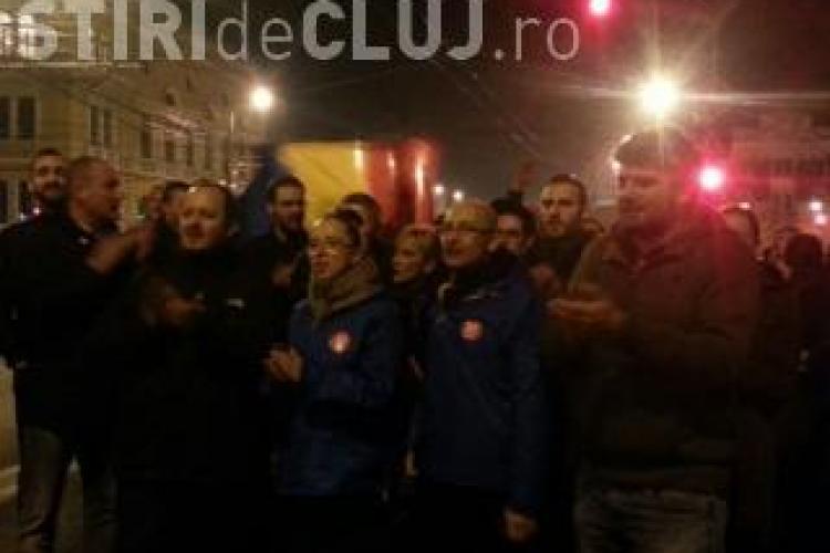 PSD Cluj: Susținătorii domnului Iohannis au la Cluj comportament de huligani