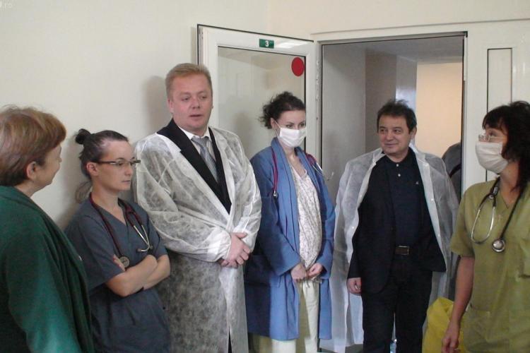 REUȘITĂ: Secţia de Terapie Intensivă a Spitalului de Boli Infecţioase Cluj este finanțată de la Ministerul Sănătății