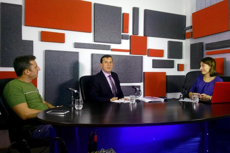 Șeful Drumurilor județene la Știri de Cluj LIVE! Emisiunea cu Mircea Avram