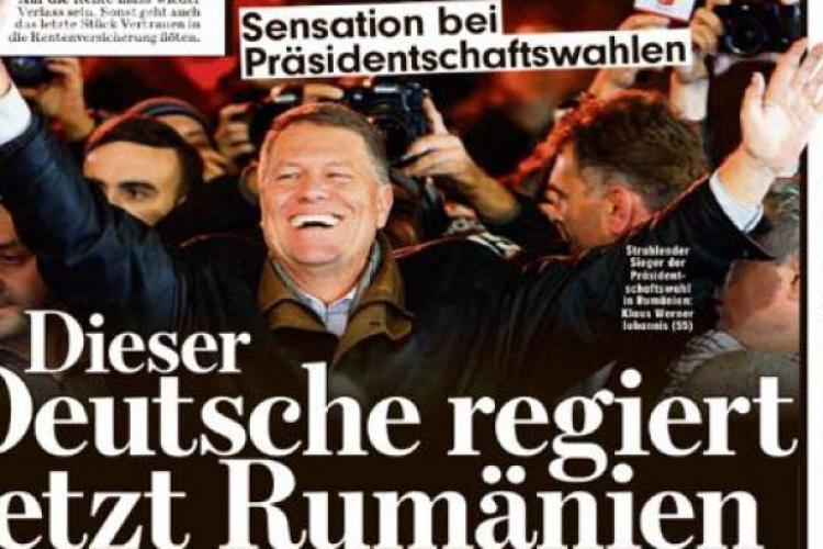 """Cel mai vândut ziar din Europa despre Iohannis: Este """"germanul care va conduce Europa"""""""