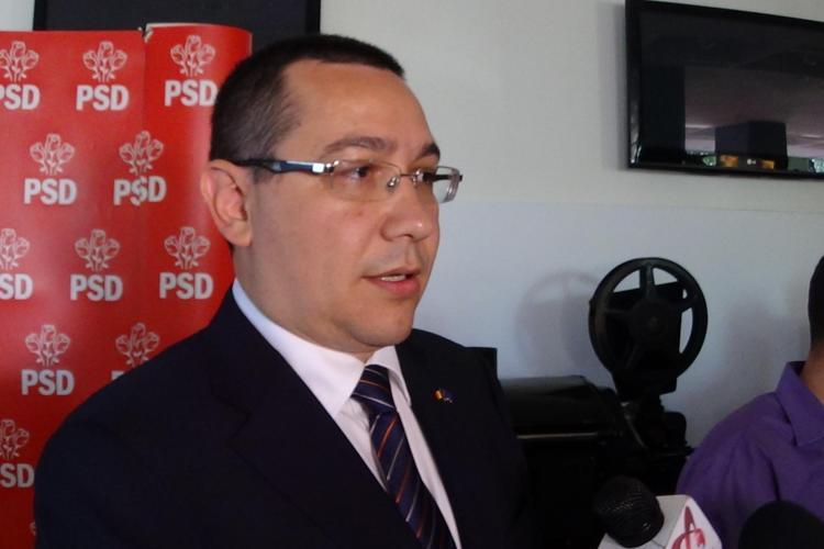 Ponta a ieșit la ATAC: Iohannis este un lucru, eu sunt un om, un român