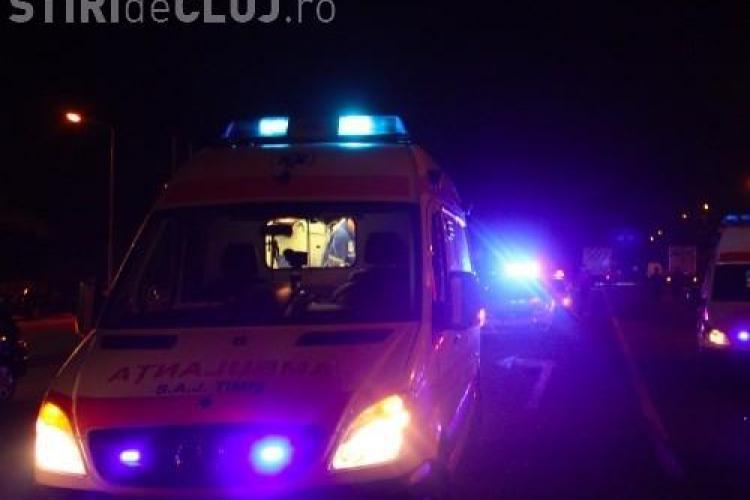 Accident MORTAL la Apahida! O femeie, căzută pe marginea drumului, a fost spulberată de un autoturism
