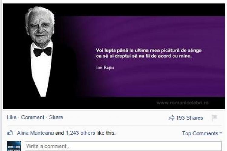 """Victor Ponta: """"În 1990, primul meu vot a fost pentru Ion Rațiu"""""""