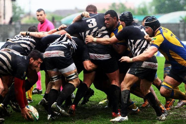Meciul de Rugby pe Cluj Arena între U Cluj și Ungaria. Se aniversează 65 de ani de rugby la Cluj