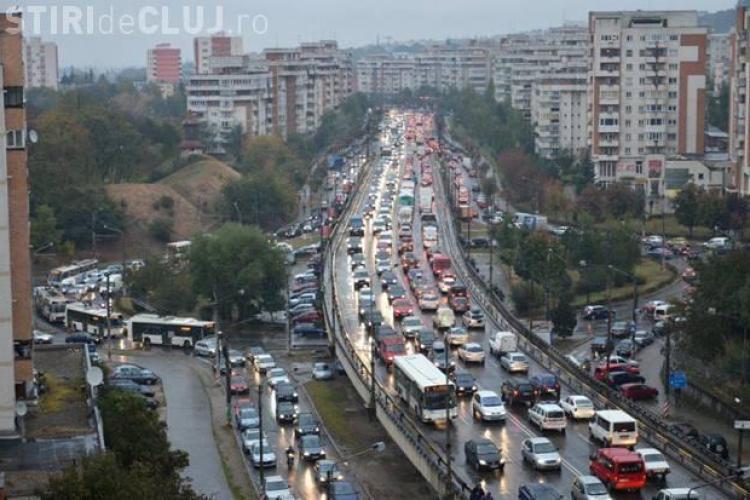 Mesajul DECENT al unui clujean sătul de traficul infernal din Cluj