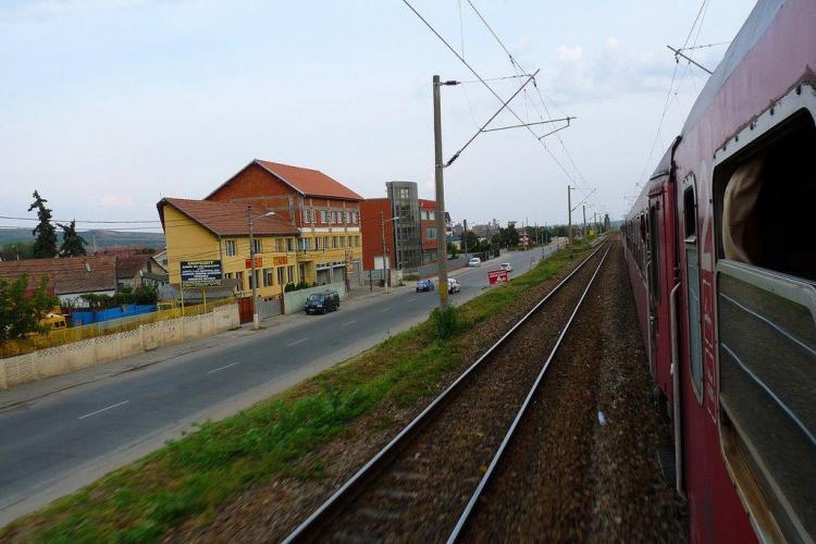 Accident mortal la halta Clujeana! Un bărbat de 63 de ani a fost spulberat de tren