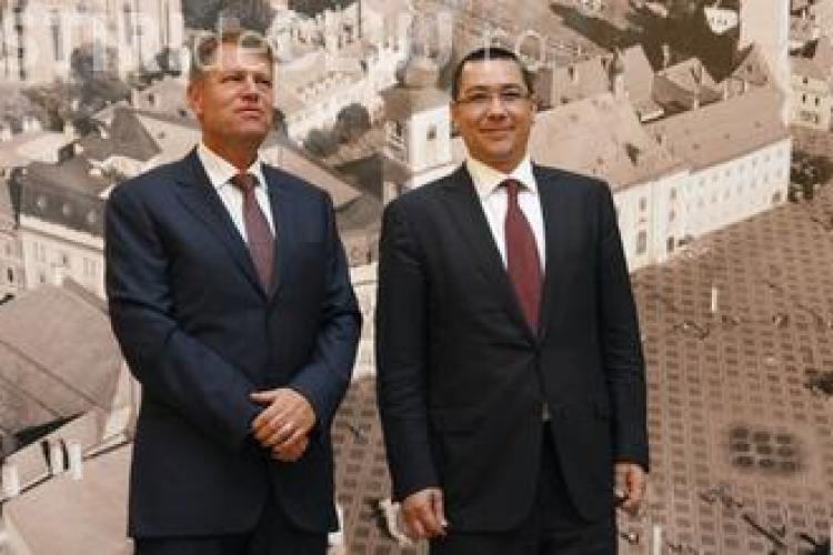 REZULTATE PARȚIALE la alegerile prezidențiale: Ponta e în conducere cu 39% din voturi, iar Iohannis e pe locul 2