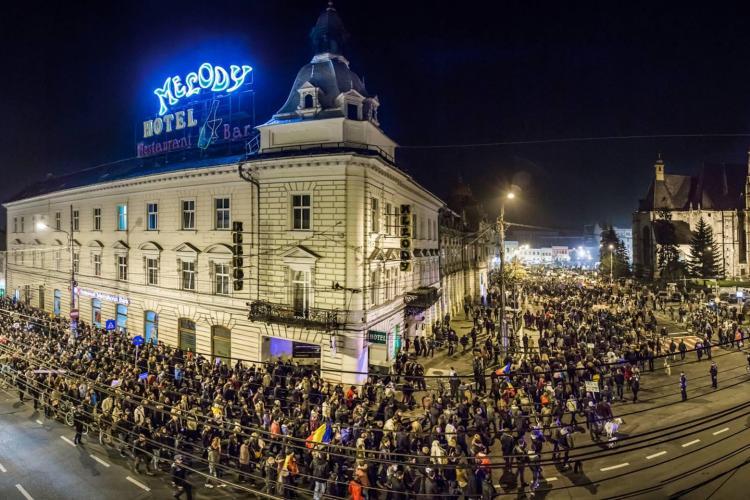 Mintingul ANTI - Ponta de la Cluj va merge și prin Mărăști! VEZI traseul - FOTO