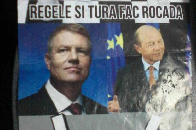 """ACL Cluj face sesizare la BEJ din cauza unor pliante șocante: """"Unde i-ați înmormântat domnule Iohannis?"""" FOTO"""