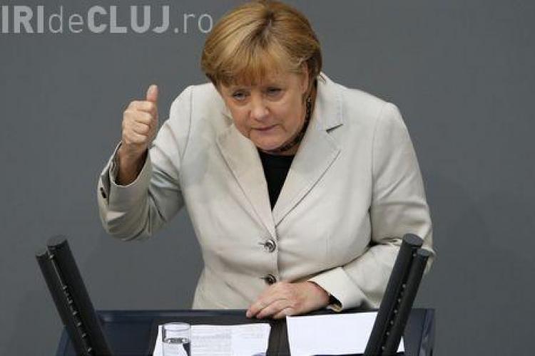 Merkel susține că Germania va aproba imediat secții suplimentare, dacă Guvernul Ponta va cere
