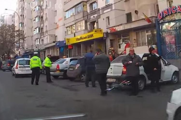 Un taximetrist către Poliția Locală Cluj: De ce nu îi amendați pe cei care ne ocupă standurile? VEZI în VIDEO ce a urmat?