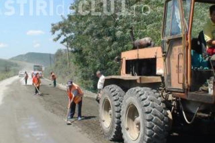 RAADPP Cluj a prezentat raportul asfaltărilor făcute până acum. Vezi la ce drumuri județene s-a lucrat