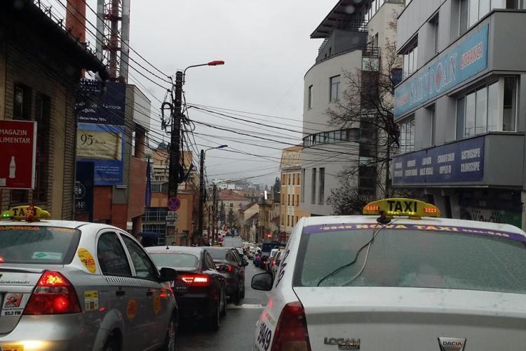 Trafic infernal la Cluj! Cum să faci o oră de la Sigma până în Piața Lucian Blaga?