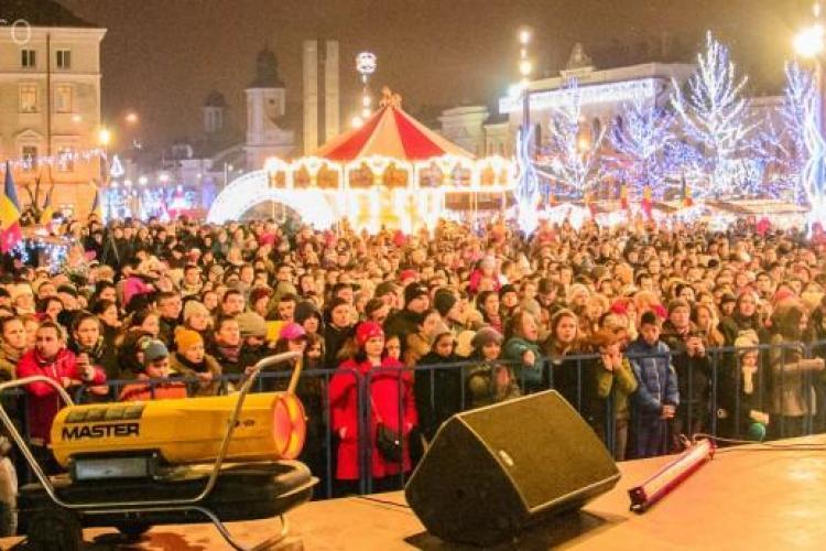 """Muzică clasică la Târgul de Crăciun de la Cluj: Cântă trupa Ad Libitum, senzația de la """"Românii au talent"""""""