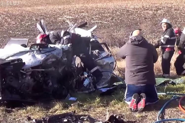Care a fost cauza accidentului MORTAL de la intrare din Turda! Mihai Culda scria SMS -uri