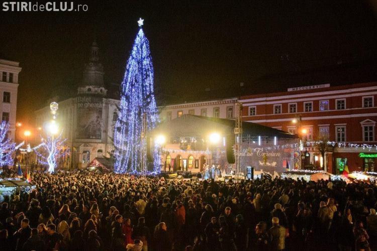 Târgul de Crăciun Cluj! Concerte Hara și Cargo
