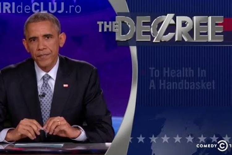 Președintele SUA, Barack Obama, s-a apucat de prezentat emisiuni. Ce a făcut la un cunoscut show TV  VIDEO