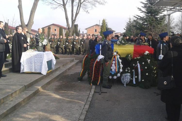 Doi dintre EROII militari morți la Sibiu au fost înmormântați la Cluj