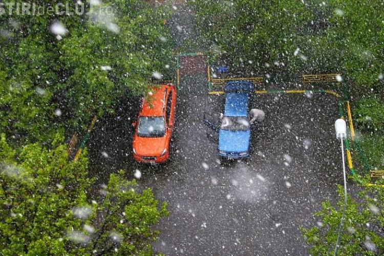Vreme urâtă în această săptămână la Cluj. Vezi când vor începe și ninsorile