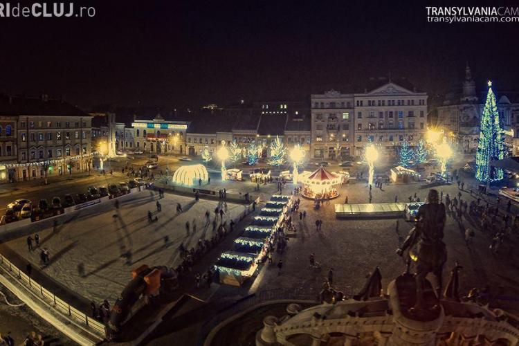 Târg de Crăciun 2014 la Cluj! Sunt patru zile gratuite la patinoar și multe concerte - PROGRAM