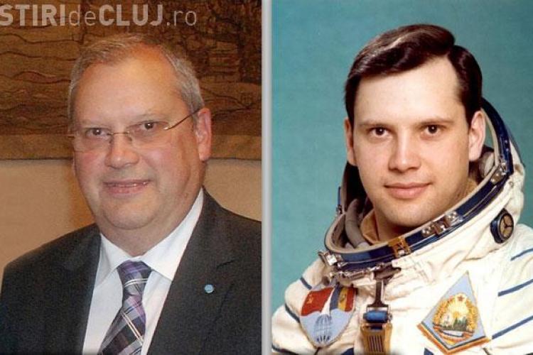 Astronautul Dumitru Prunariu onorat de UBB Cluj