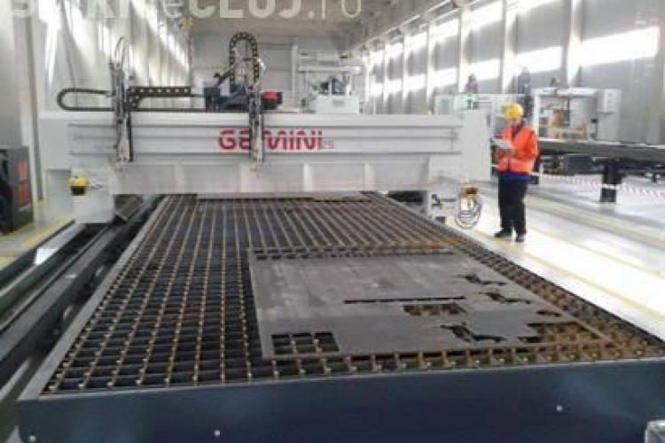 ACI Cluj a finalizat în timp record Fabrica de Confecții Metalice realizată din fonduri europene (P)