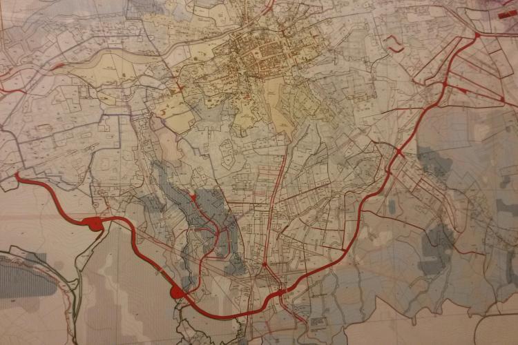 Boc anunță o MEGA centură prin Sudul Clujului. Trece prin Mănăștur, Zorilor și Gheorgheni - FOTO