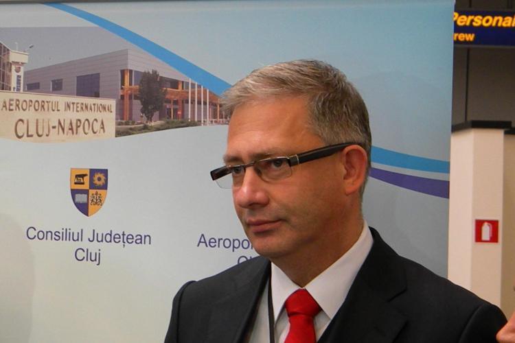 """Directorul Aeroportului Cluj, David Ciceo, a vorbit la """"Infrastructure Forum"""" despre transportul intermodal"""