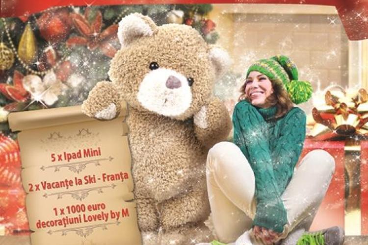 Premii URIAȘE la Iulius Mall de Crăciun. Cum poți câștiga o cabană la cheie, un Mercedes sau vacanțe în străinătate (P)