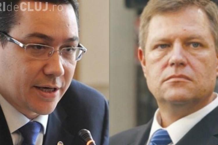 "Victor Ponta are un mesaj pentru Klaus Iohannis: ""Era campanie. Imi pare rau"""